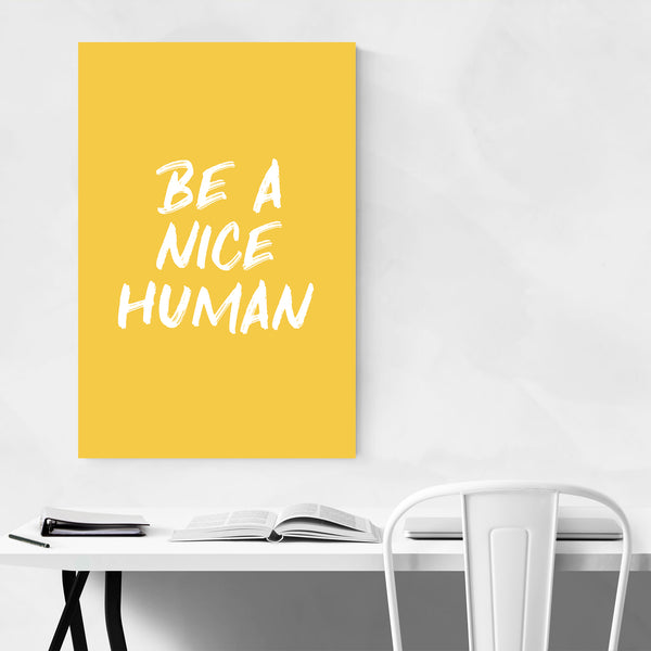 Motivational Typography Quote Art Print