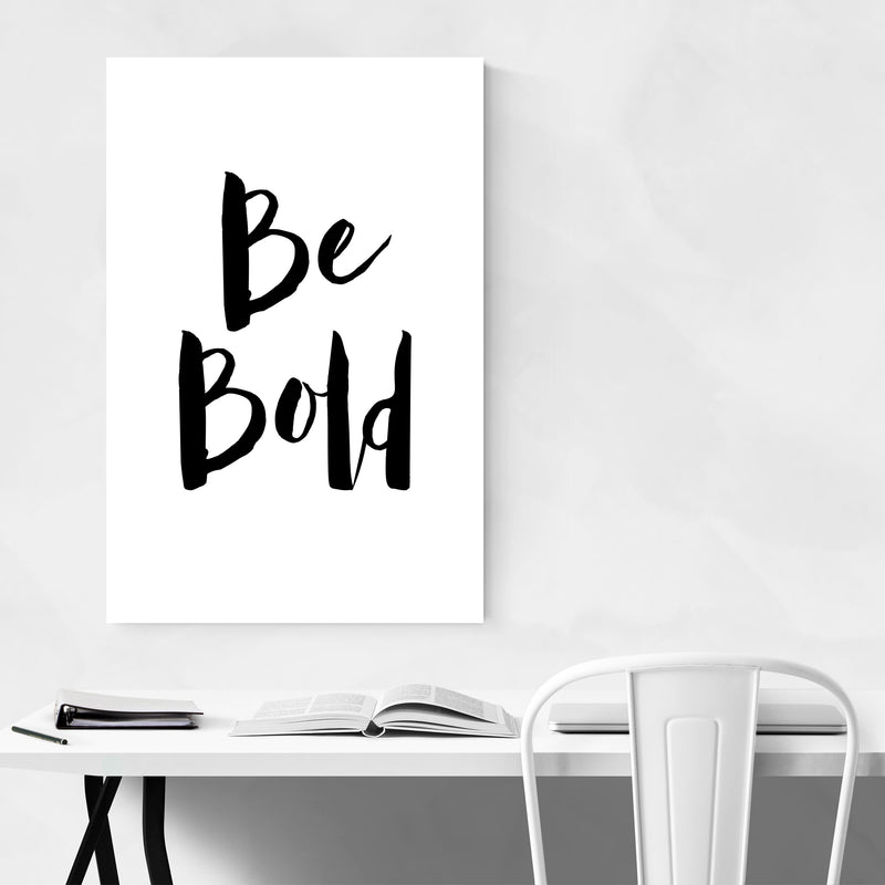 Inspirational Typography Quote Art Print