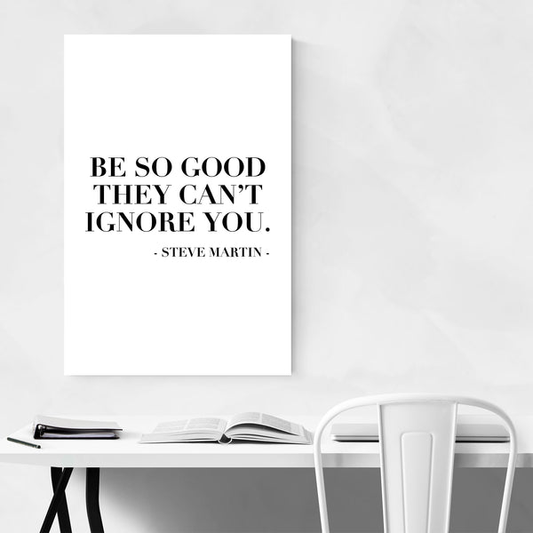 Steve Martin Quote Typography Art Print