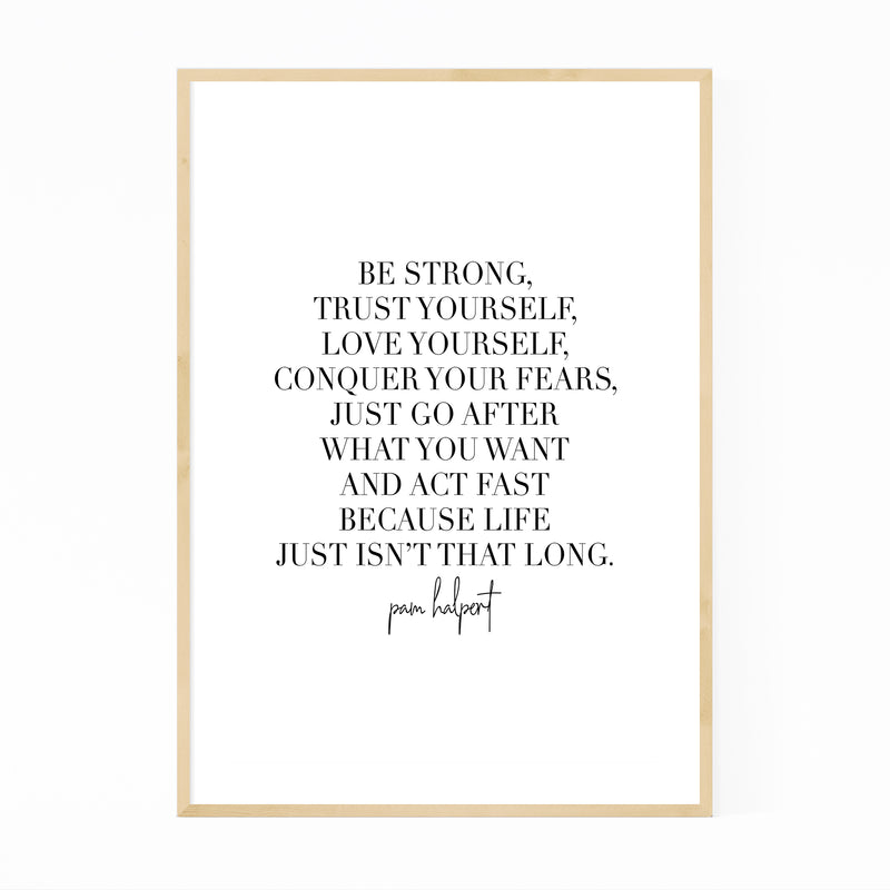 The Office TV Quote Typography Framed Art Print
