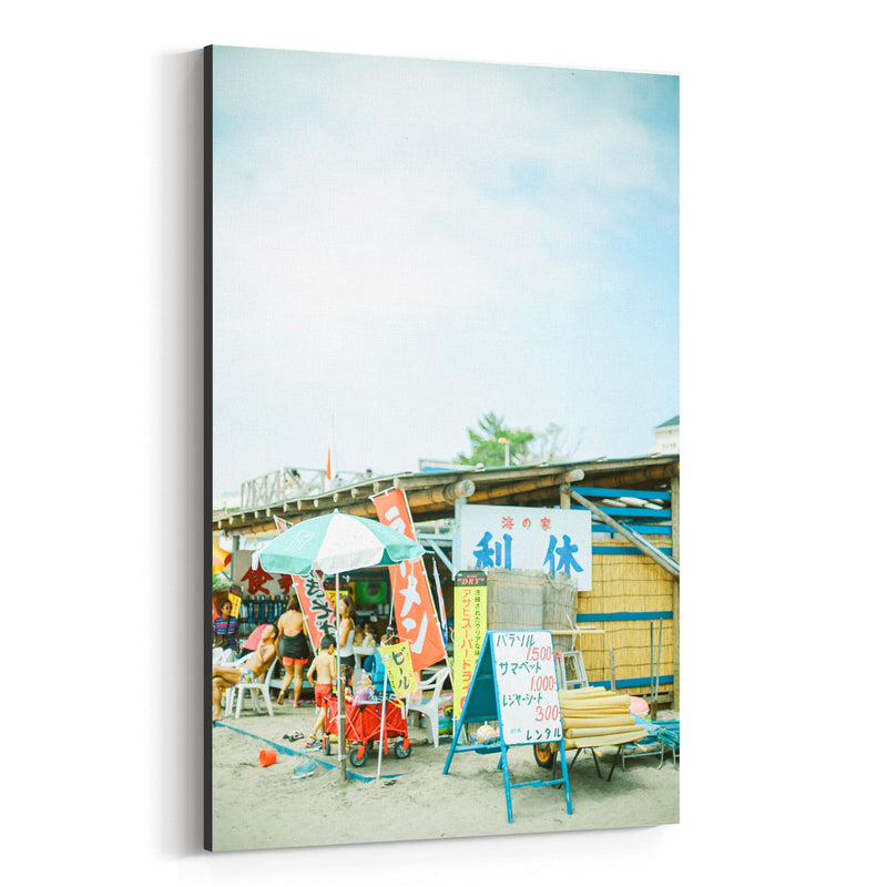 Zushi Kanagawa Japan Beach Canvas Art Print
