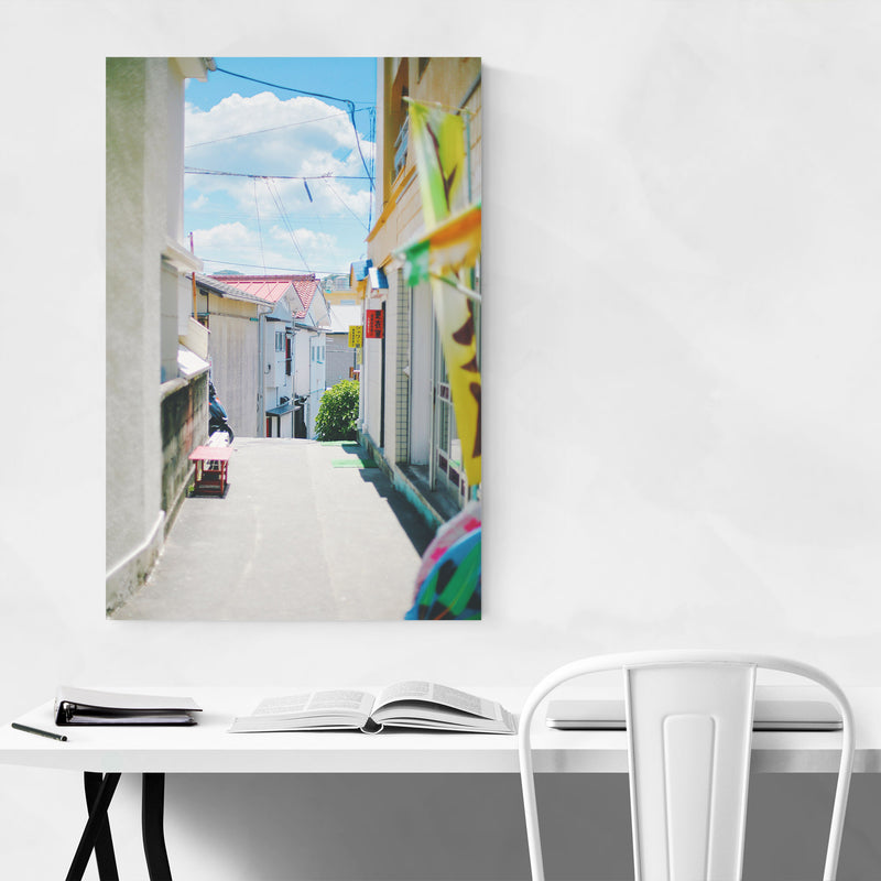 Old Beach House Matsuzaki Japan Canvas Art Print