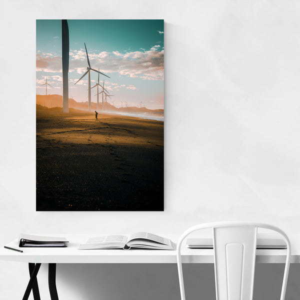 Philippines Bangui Windmills Art Print