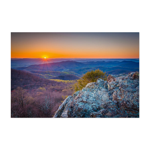 Shenandoah Virginia Nature Mountains Art Print