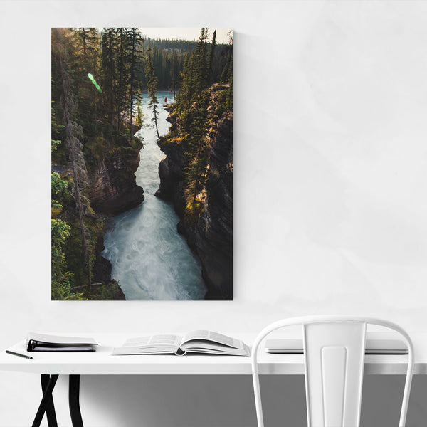 Athabasca Grand Teton National Park Art Print