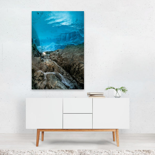 Aletsch Switzerland Landscape Art Print
