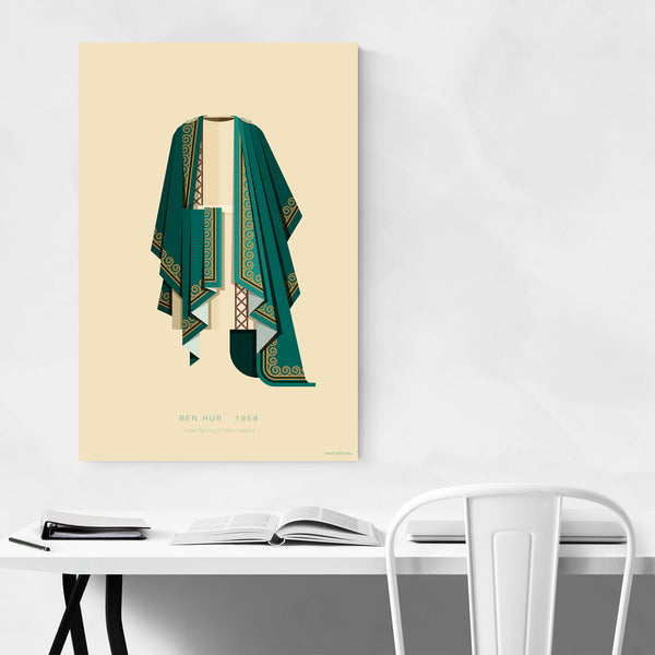 Ben Hur Movie TV Illustration Art Print