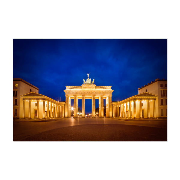Berlin Germany Brandenburg Gate Art Print
