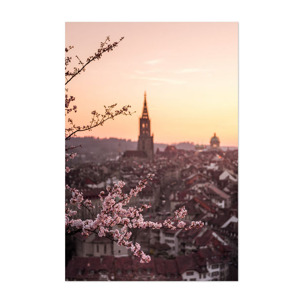 Bern City Switzerland Photo Art Print