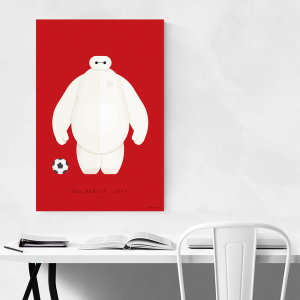 Big Hero 6 Illustration Art Print