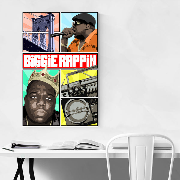 Biggie Notorious BIG Rapper Music Art Print