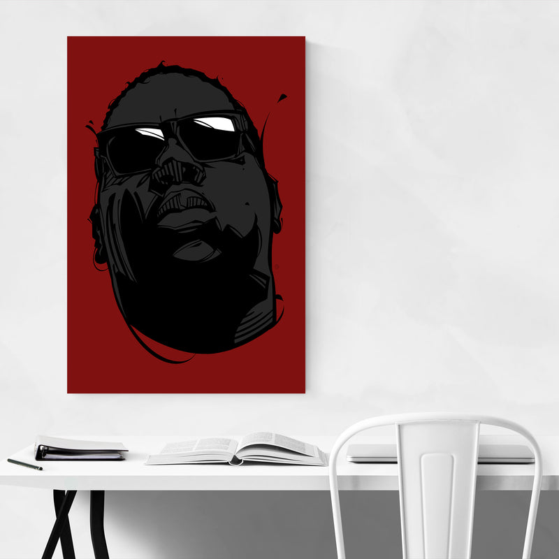 The Notorious BIG Rappers Art Print
