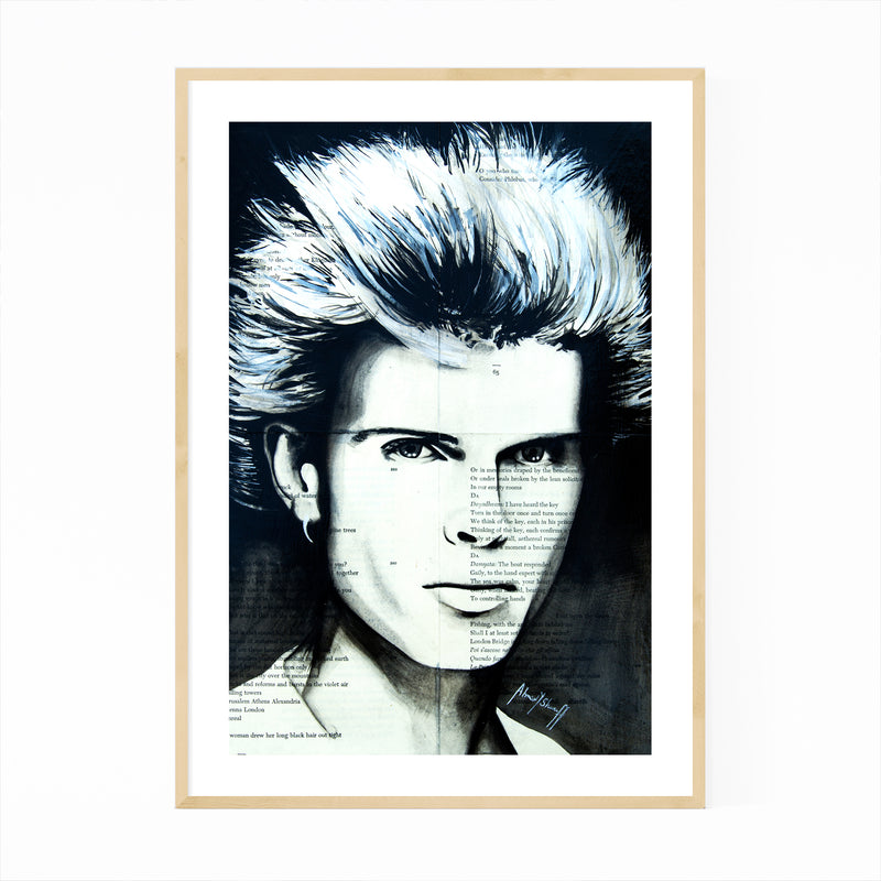 Billy Idol Music Framed Art Print
