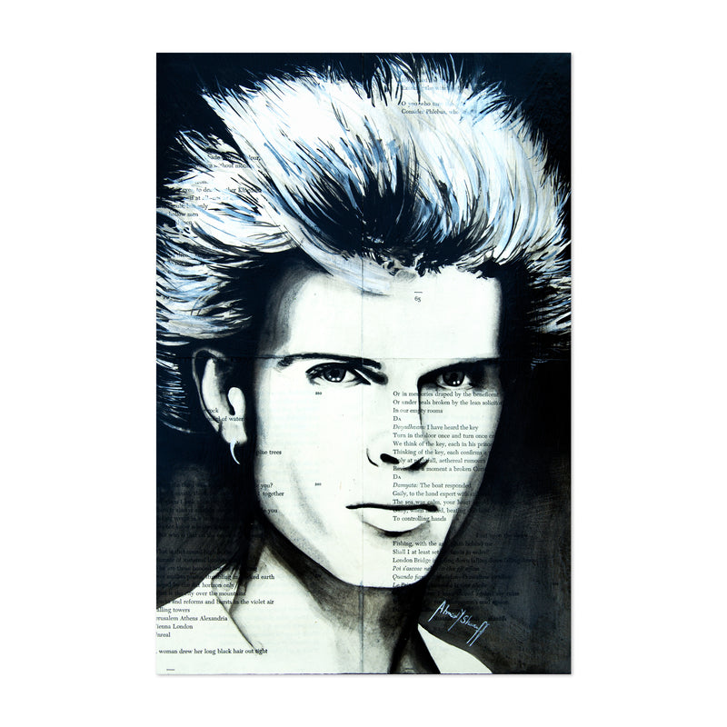 Billy Idol Music Art Print