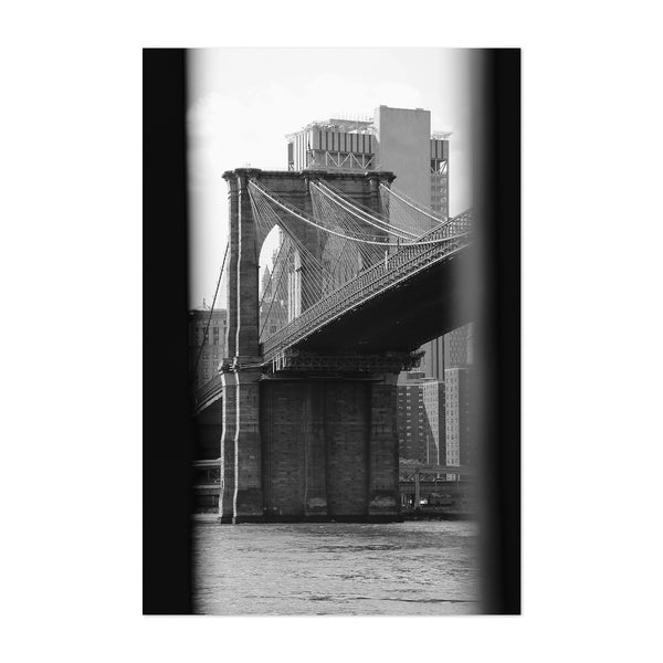 Brooklyn Bridge New York Photo Art Print