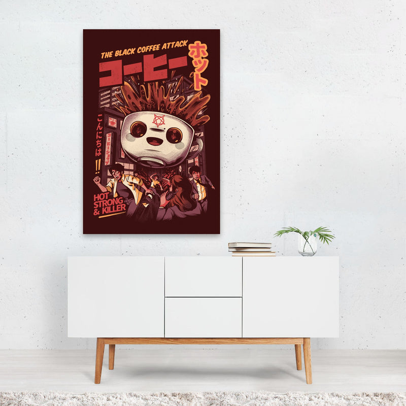 Coffee Kitchen Urban Illustration Art Print