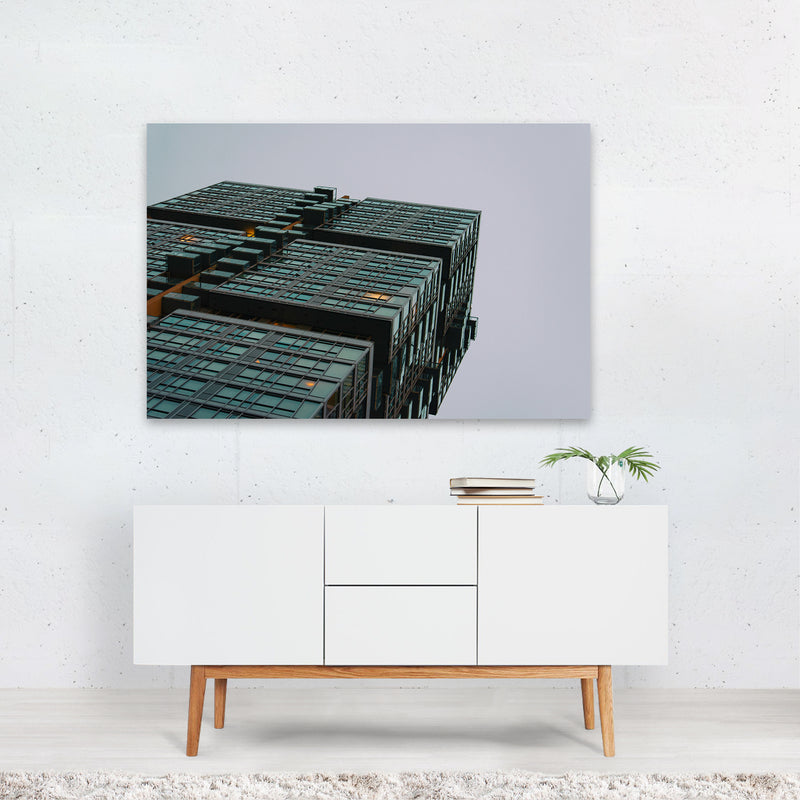 Toronto Canada Abstract Architecture Art Print