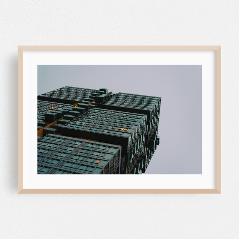Toronto Canada Abstract Architecture Framed Art Print