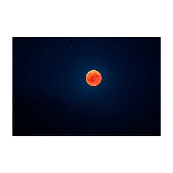 Blood Moon Nature Astronomy Art Print