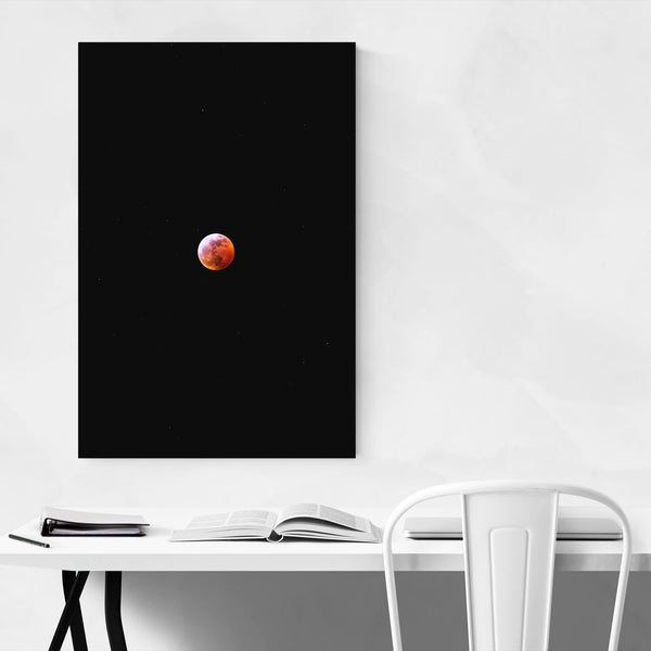 Lunar Eclipse Moon Astronomy Art Print