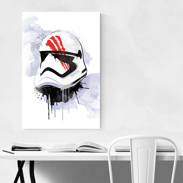 Bloody Trooper Star Wars Watercolor Art Print