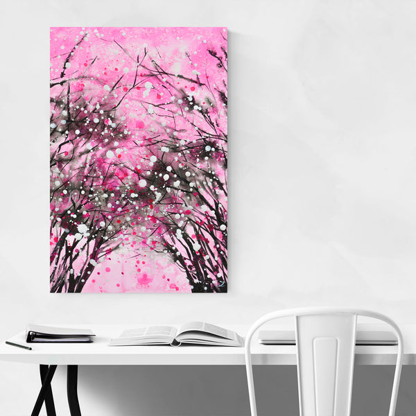 Cherry Fruit Painting Art Print