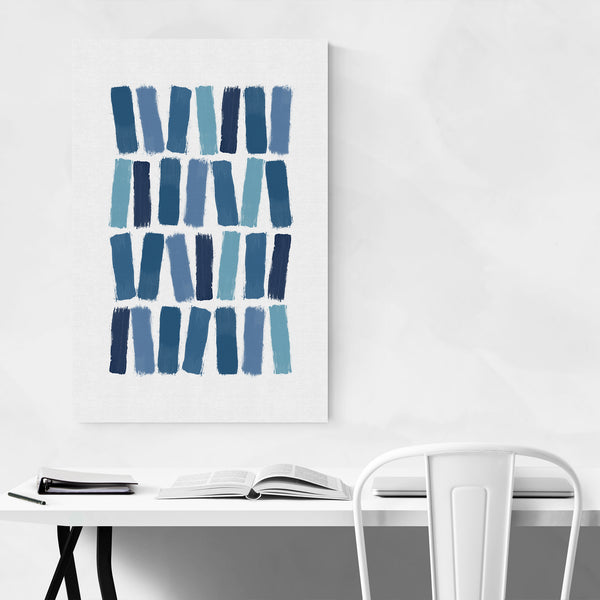 Brush Strokes Painting Art Print