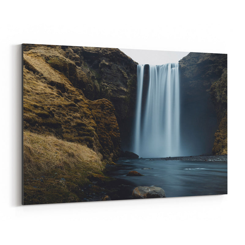Skogafoss Waterfall Iceland Canvas Art Print
