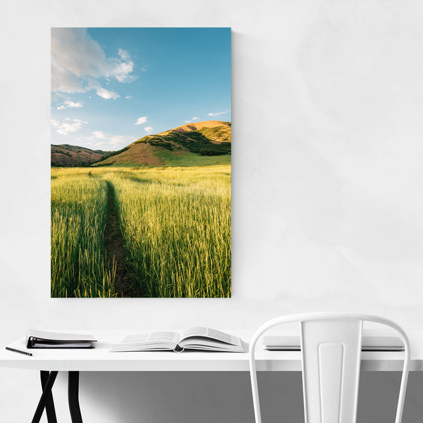 Salt Lake City Utah Landscape Art Print