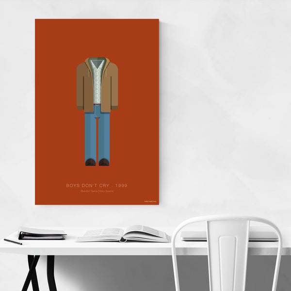 Boys Don't Cry Movie TV Illustration Art Print