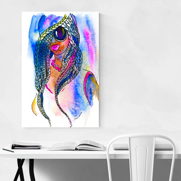 Feminine Figurative Painting Art Print