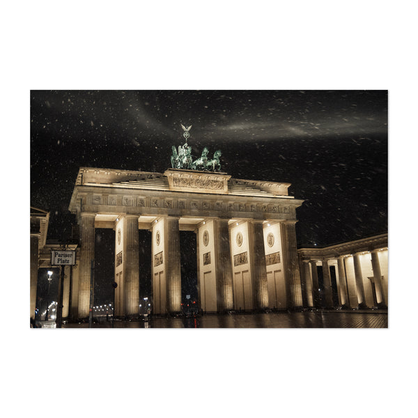 Brandenburg Gate Berlin Germany Art Print