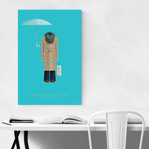 Breakfast on Pluto Illustration Art Print