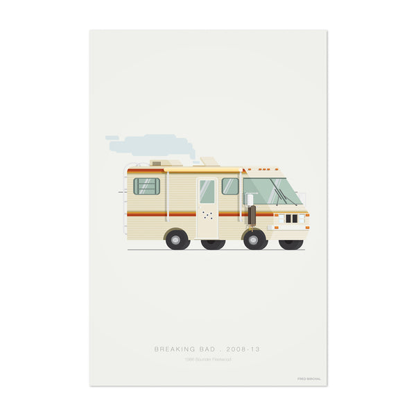 Breaking Bad Movie TV Illustration Art Print