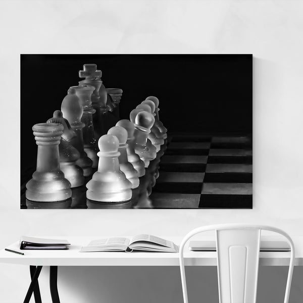 Chess Board Strategy Game Art Print