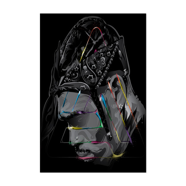 Chris Brown Music Pop Culture Art Print