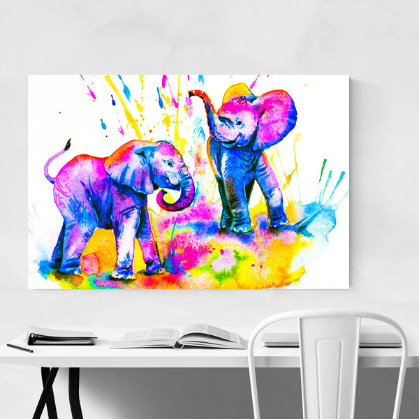 Animal Elephant Painting Art Print