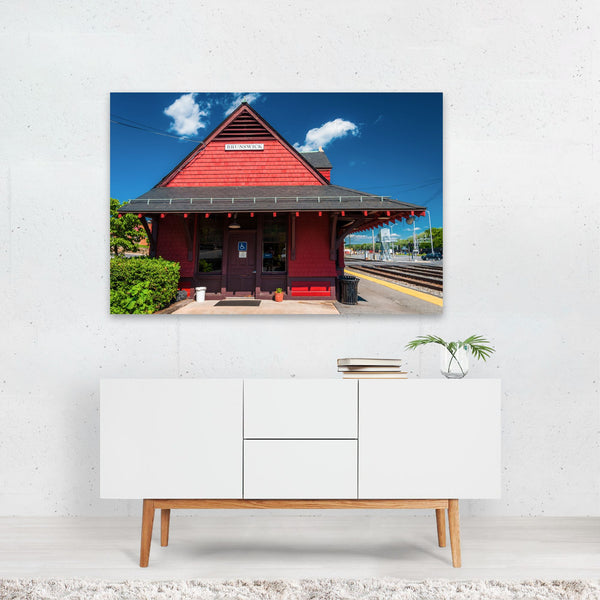 Brunswick Maryland Train Station Art Print