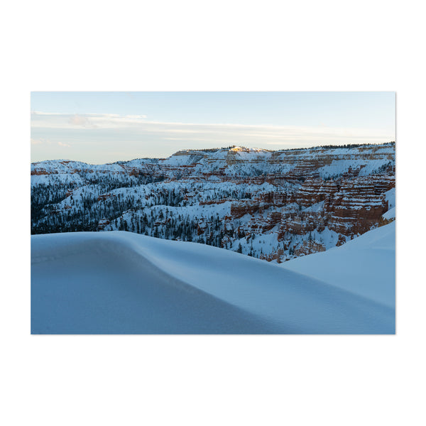 Bryce Canyon Utah Winter Photo Art Print