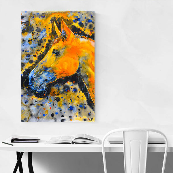 Animal Horse Painting Art Print