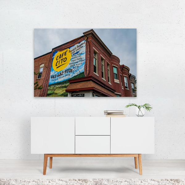 Baltimore Maryland Sign Kitchen Photo Art Print