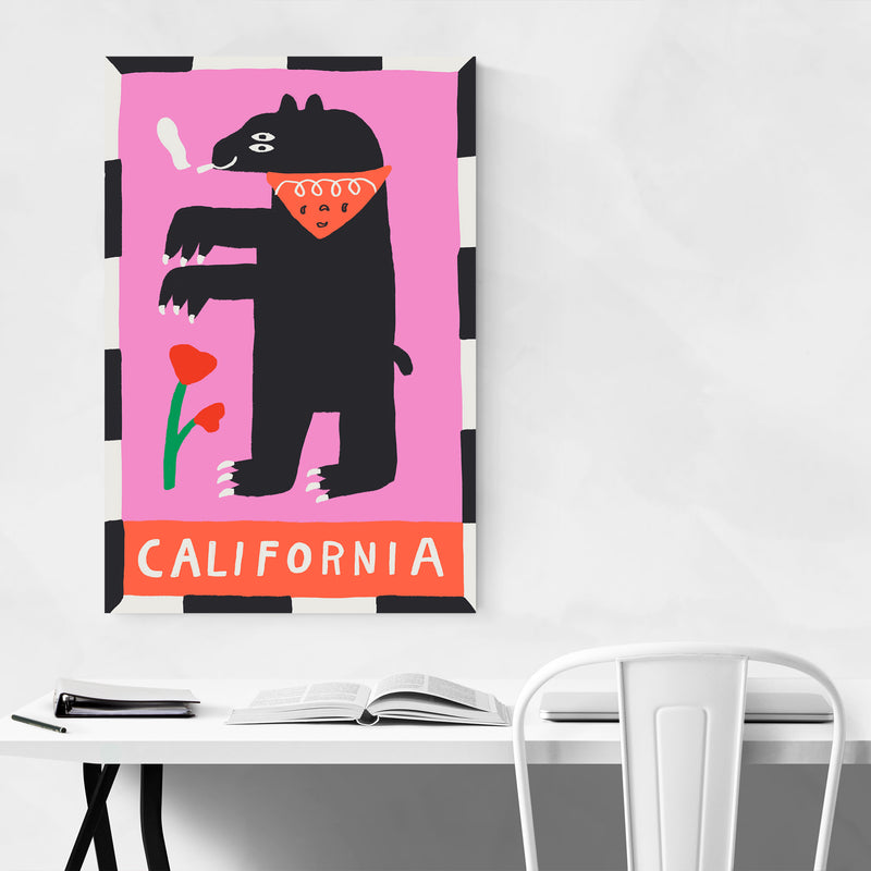 California State Flag Art Print