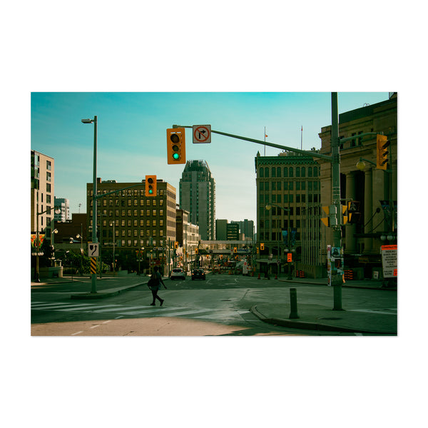 Ottawa Canada Urban Cityscape Photo Art Print