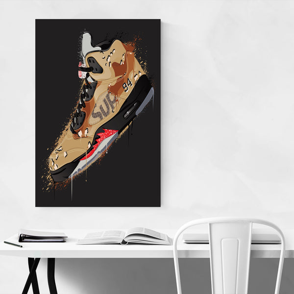 Air Jordan Sneakerhead Gift Art Print