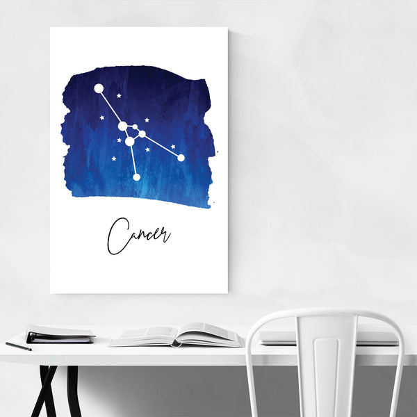 Cancer Zodiac Constellation Art Print