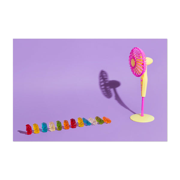 Funny Humor Candy Pastel Art Print