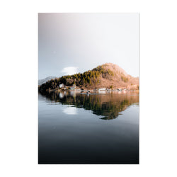 Lake Bled Slovenia Nature Photo Art Print