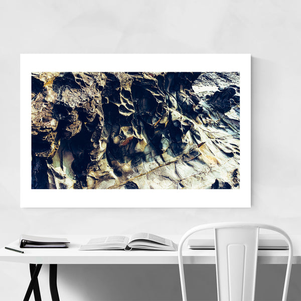 Goa India Rock Formations Art Print