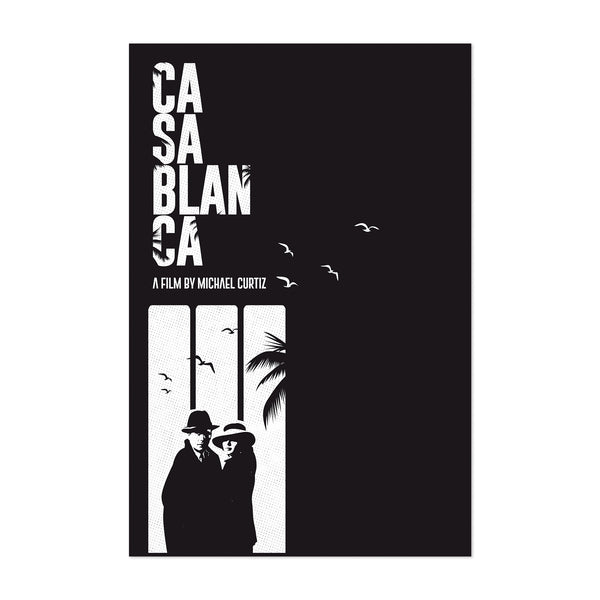 Casablanca movie poster Art Print