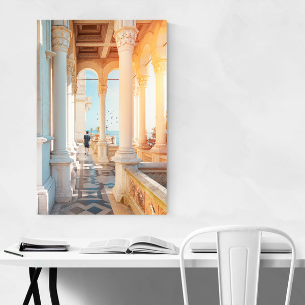 Trieste Miramare Castle Italy Photo Art Print
